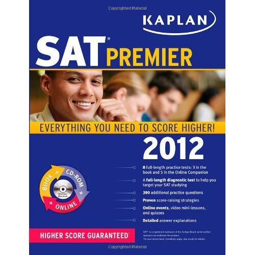 Kaplan - Kaplan SAT 2012 Premier with CD-ROM (KAPLAN SAT PREMIER LIVE) - Preis vom 19.10.2020 04:51:53 h