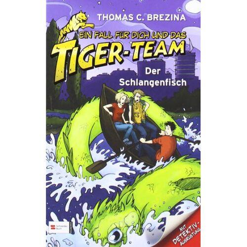 Brezina, Thomas C. - Ein Fall für dich und das Tiger-Team, Band 44: Der Schlangenfisch - Preis vom 15.05.2021 04:43:31 h