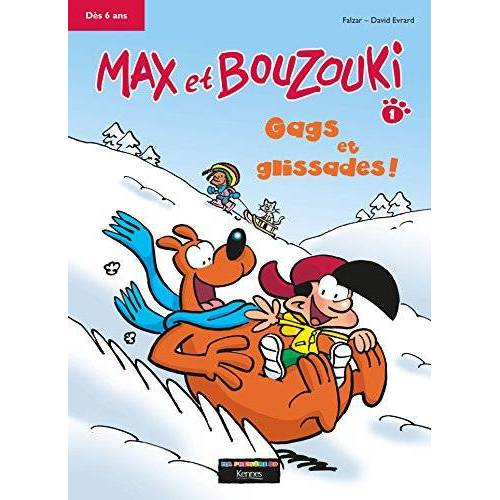 Falzar - Max et Bouzouki, Tome 1 : Gags et glissades - Preis vom 24.02.2021 06:00:20 h