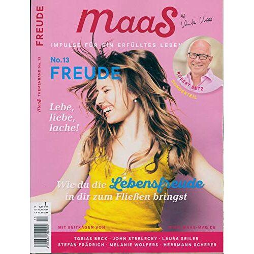 Maas - maaS 13/2019 Freude - Preis vom 26.02.2021 06:01:53 h