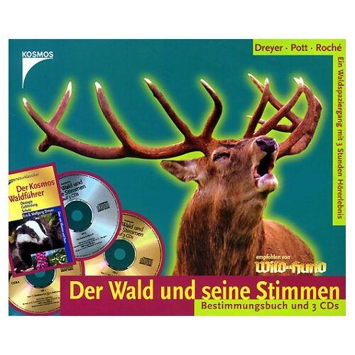 Eva Dreyer - Der Wald und seine Stimmen, 3 Audio-CDs m. Bestimmungsbuch - Preis vom 02.11.2020 05:55:31 h