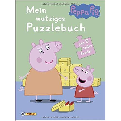 - Peppa: Mein wutziges Puzzlebuch: Mit 5 tollen Puzzles - Preis vom 28.02.2021 06:03:40 h