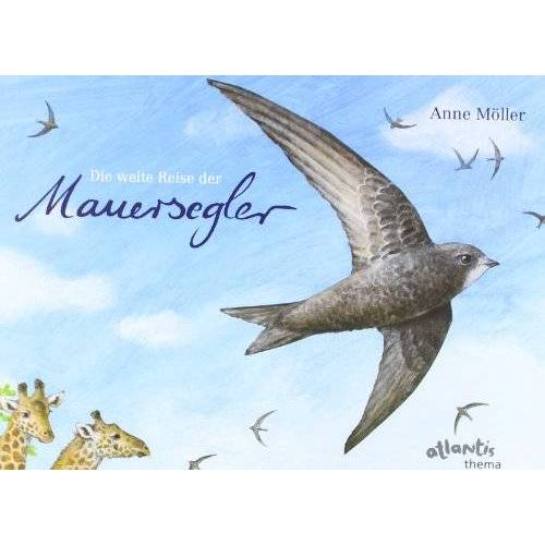 Anne Möller - Die weite Reise der Mauersegler - Preis vom 21.10.2020 04:49:09 h
