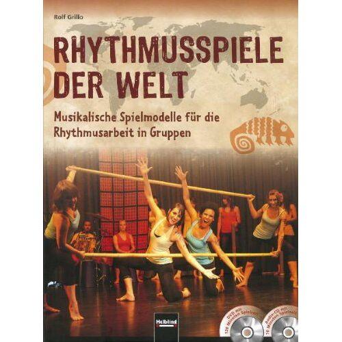 Rolf Grillo - Rhythmusspiele der Welt, m. Audio-CD u. DVD - Preis vom 21.10.2020 04:49:09 h