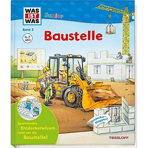 Christina Braun - Was ist was junior: Baustelle (WAS IST WAS junior - Sachbuchreihe, Band 5) - Preis vom 22.02.2020 06:00:29 h