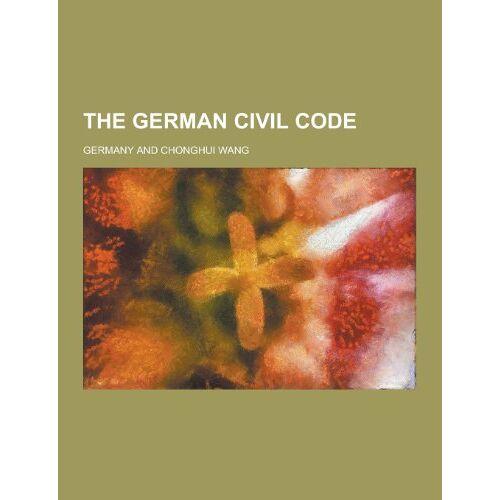 Germany - The German Civil Code - Preis vom 15.04.2021 04:51:42 h