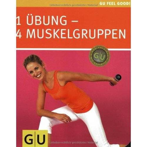 Uwe Conell - 1 Übung - 4 Muskelgruppen (Feel good) - Preis vom 18.10.2020 04:52:00 h