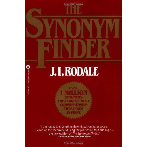 Rodale, J. I. - The Synonym Finder - Preis vom 24.02.2021 06:00:20 h