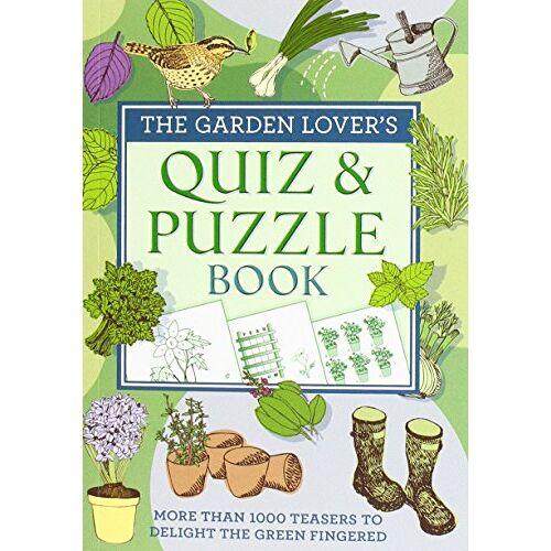 - The Garden Lover's Quiz & Puzzle Book (Puzzles) - Preis vom 21.09.2020 04:46:04 h