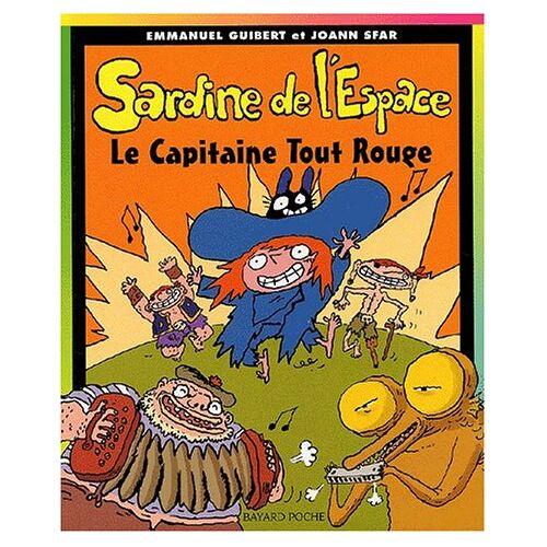 Joann Sfar - Sardine de l'Espace, Tome 6 : Le capitaine tout rouge (Poche Sard Espa) - Preis vom 20.10.2020 04:55:35 h