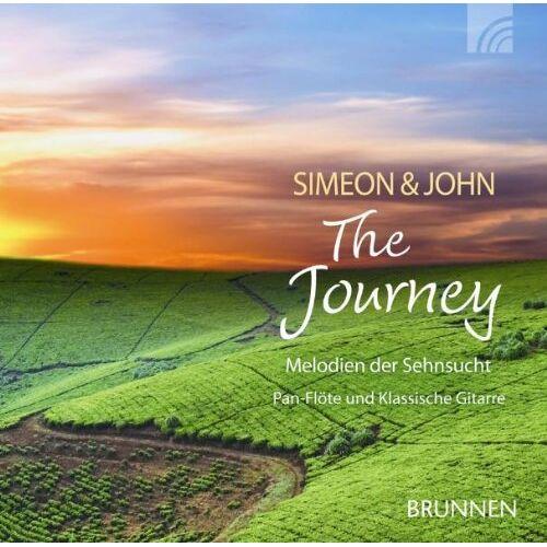 Simeon & John - The Journey. CD. . Melodien der Sehnsucht. Pan-Flöte und Klassische Gitarre - Preis vom 11.05.2021 04:49:30 h