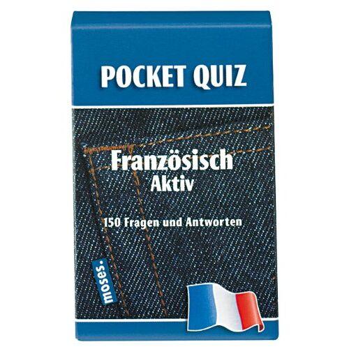 Frederique Blau - POCKET-QUIZ: FRANZOESISCH aktiv: Französisch aktiv. 150 Fragen und Antworten - Preis vom 05.09.2020 04:49:05 h