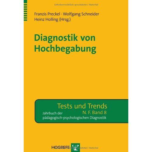 Franzis Preckel - Diagnostik von Hochbegabung - Preis vom 28.10.2020 05:53:24 h