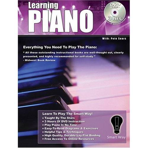 Pete Sears - Learning Piano the Smart Way - Play Piano Today-Book & DVD - Preis vom 23.01.2021 06:00:26 h