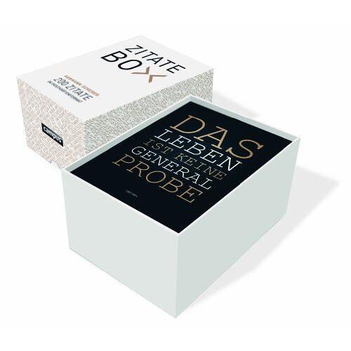 Hermann Scherer - Zitate-Box: 200 Zitate im Postkartenformat - Preis vom 12.04.2021 04:50:28 h