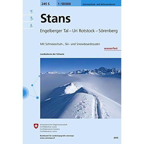 Bundesamt für Landestopografie swisstopo - Stans Skirouten 1:50'000 - Preis vom 08.05.2021 04:52:27 h