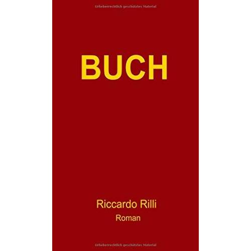 Riccardo Rilli - BUCH: Ein metafiktionaler Thriller - Preis vom 21.10.2020 04:49:09 h