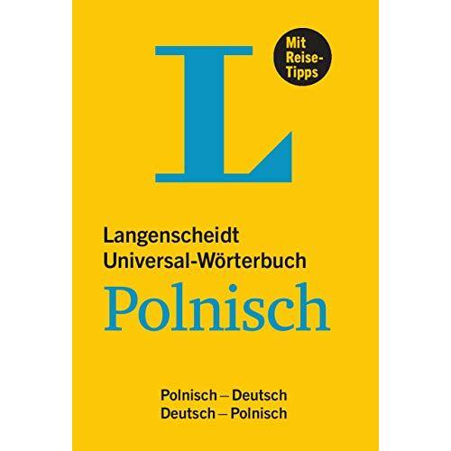 - Langenscheidt Universal-Wörterbuch Polnisch: Polnisch-Deutsch / Deutsch-Polnisch - Preis vom 27.02.2021 06:04:24 h