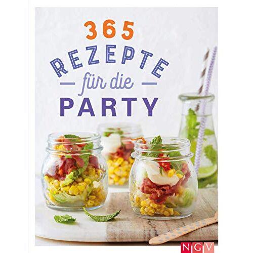 - 365 Rezepte für die Party: Tolle Rezeptideen für jede Gelegenheit - Preis vom 20.10.2020 04:55:35 h
