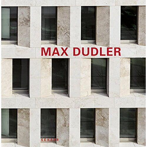 Alexander Bonte - Max Dudler - Preis vom 19.10.2020 04:51:53 h