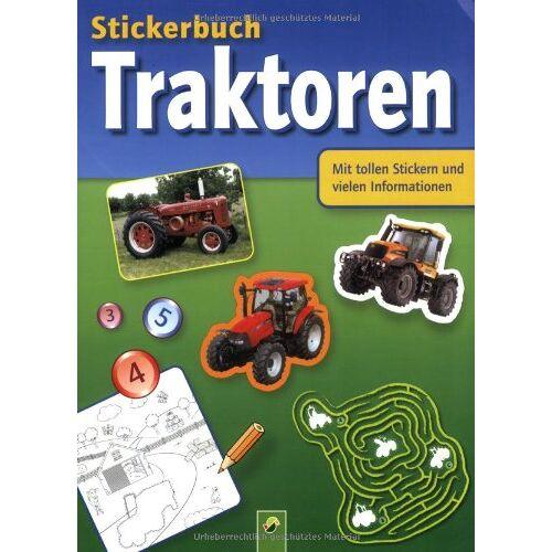 - Stickerbuch Traktoren: Mit tollen Stickern und vielen Informationen - Preis vom 19.01.2021 06:03:31 h