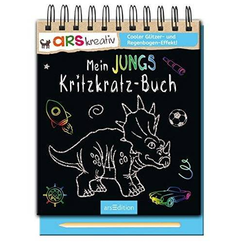 Carolin Hensler - Mein Jungs-Kritzkratz-Buch - Preis vom 12.05.2021 04:50:50 h