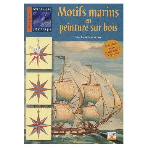 Alicja Kacka-Despringhere - Motifs marins en peinture sur bois - Preis vom 20.10.2020 04:55:35 h