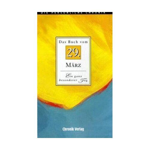 Brigitte Esser - Das Buch vom 29. März. Ein ganz besonderer Tag - Preis vom 14.05.2021 04:51:20 h