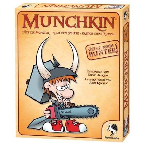 - Pegasus Spiele 17100G - Munchkin, Kartenspiel - Preis vom 28.02.2021 06:03:40 h