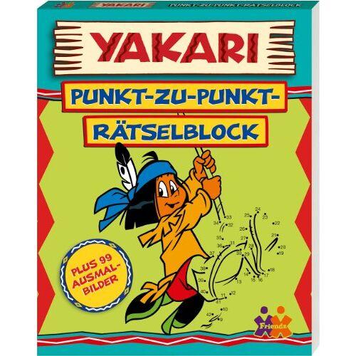 Friendz - Yakari. Punkt-zu-Punkt Rätselblock (plus 99 Ausmalbilder) - Preis vom 19.07.2019 05:35:31 h