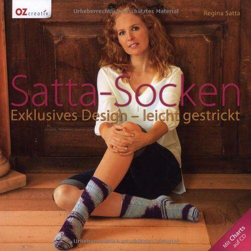 Regina Satta - Satta-Socken: Exklusives Design - leicht gestrickt. Mit Charts auf CD - Preis vom 05.05.2021 04:54:13 h