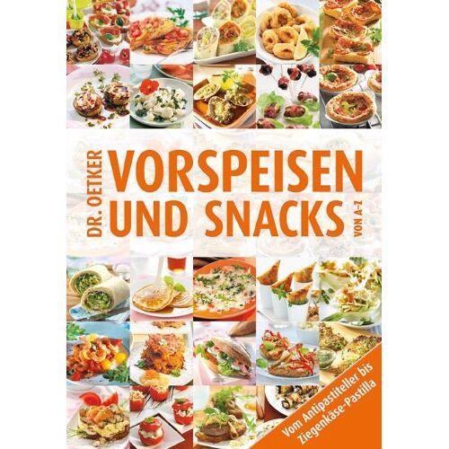 Oetker - Vorspeisen und Snacks von A-Z - Preis vom 18.04.2021 04:52:10 h