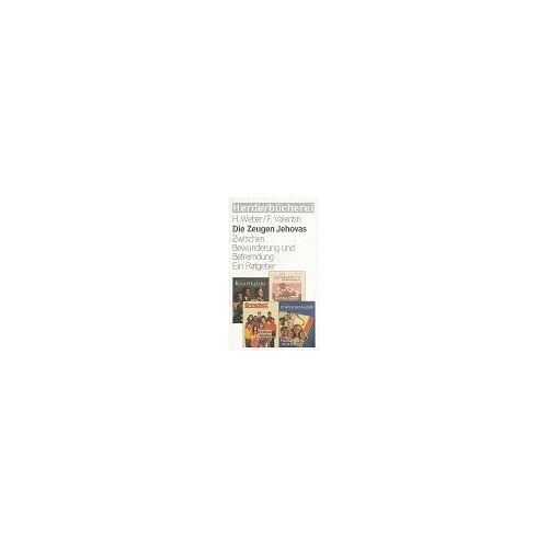 Herbert Weber - Die Zeugen Jehovas - Preis vom 13.04.2021 04:49:48 h