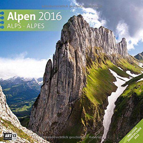 Ackermann Kunstverlag - Alpen 30 x 30 cm 2016 - Preis vom 12.11.2019 06:00:11 h
