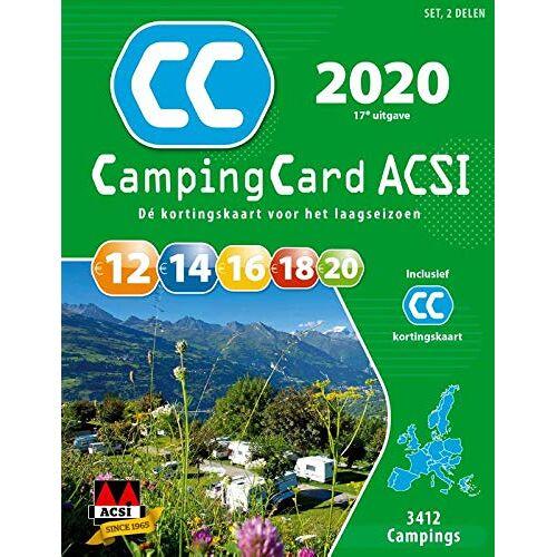ACSI - Campingcard ACSI 2020 (ACSI Campinggids) - Preis vom 23.02.2021 06:05:19 h
