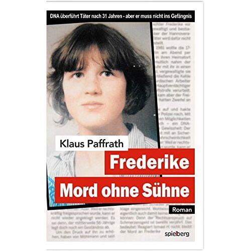 Klaus Paffrath - Frederike: Mord ohne Sühne - Preis vom 24.01.2021 06:07:55 h
