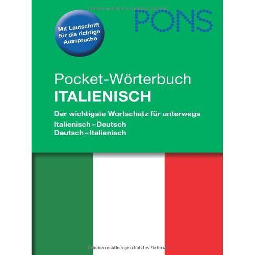 - PONS Pocket-Wörterbuch Italienisch: Der wichtigste Wortschatz für Unterwegs. Italienisch-Deutsch/Deutsch-Italienisch - Preis vom 06.09.2020 04:54:28 h