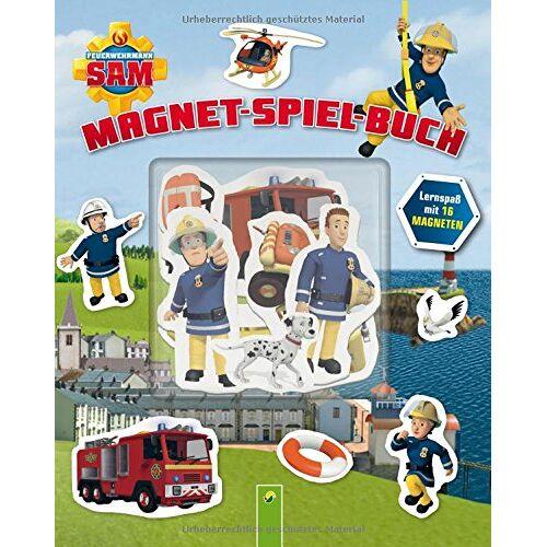 - Feuerwehrmann Sam Magnet-Spiel-Buch: Lernspaß mit 16 Magneten - Preis vom 25.05.2020 05:02:06 h