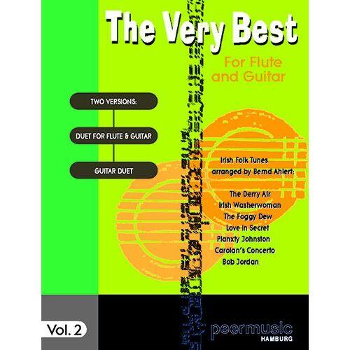 Bernd Ahlert (Bearb.) - The Very Best Vol. 2 - Irish Folk Tunes für Flöte und Gitarre oder Gitarrenduo (Noten) - Preis vom 14.05.2021 04:51:20 h