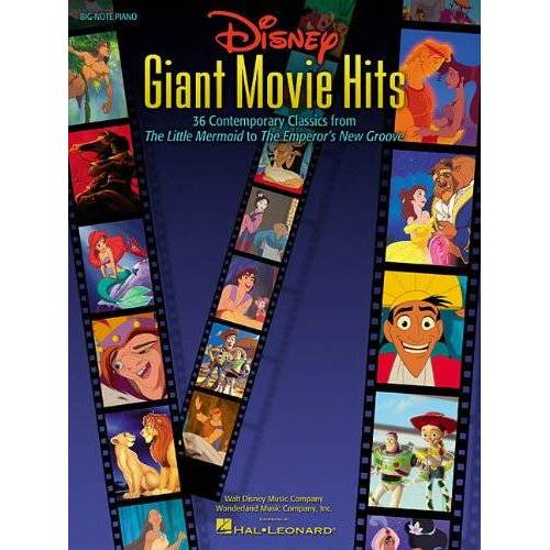 Various - Disney Giant Movie Hits Big Note Piano Pvg - Preis vom 28.02.2021 06:03:40 h