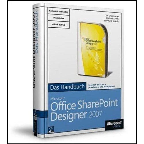 Dirk Grasekamp - Microsoft Office SharePoint Designer 2007 - Das Handbuch - Preis vom 15.06.2019 04:47:26 h