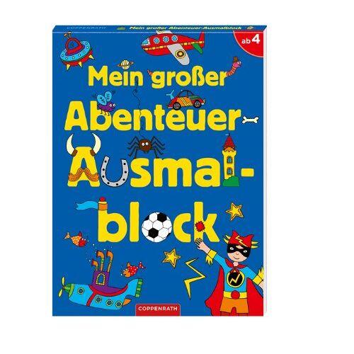 - Mein großer Abenteuer-Ausmalblock - Preis vom 12.06.2019 04:47:22 h