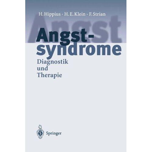 H. Hippius - Angstsyndrome: Diagnostik und Therapie - Preis vom 11.05.2021 04:49:30 h