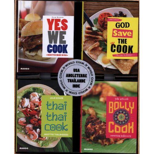 Julie Schwob - World Cook : Coffret 4 volumes : Yes we cook ; God save the cook ; Thaï thaï cook ; Bolly cook - Preis vom 05.09.2020 04:49:05 h