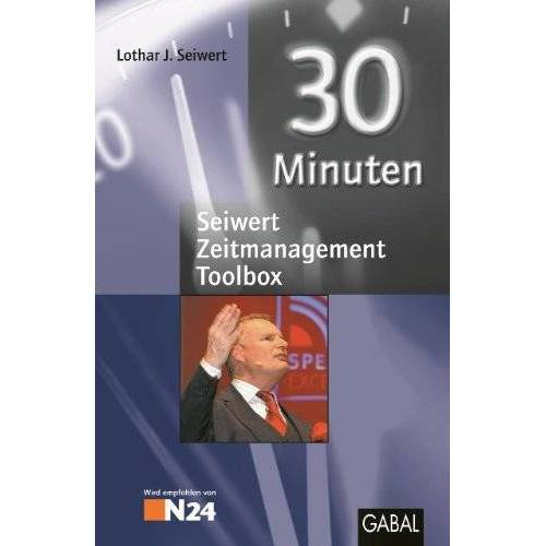 Seiwert, Lothar J. - Seiwert-Zeitmanagement-Toolbox: Work-Life-Balance / Zeitmanagement mit iPhone / Zeitmanagement mit BlackBerry / Zeitmanagement für Chaoten / Zeitmanagement - Preis vom 27.02.2021 06:04:24 h
