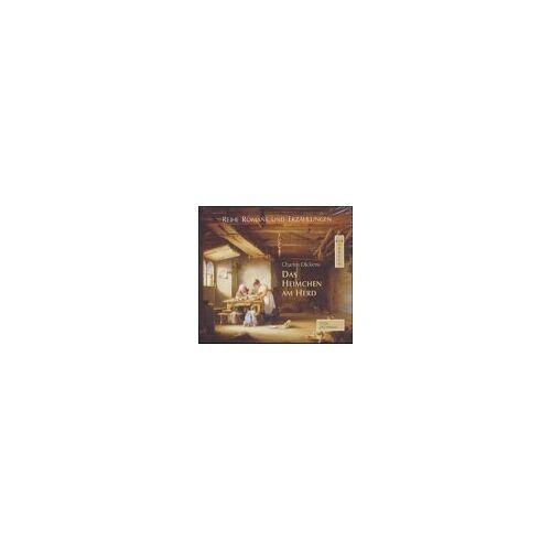 Charles Dickens - Das Heimchen am Herd. 4 CDs. - Preis vom 25.01.2021 05:57:21 h