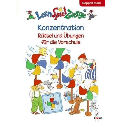 Birgitt Carstens - LernSpielZwerge Übungshefte: Konzentration - Preis vom 06.05.2021 04:54:26 h