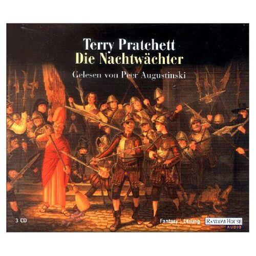 Terry Pratchett - Nachtwächter. 3 CDs. - Preis vom 16.04.2021 04:54:32 h