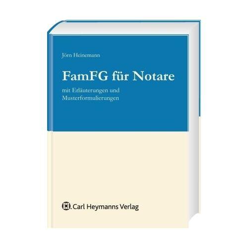 Jörn Heinemann - FamFG für Notare - Preis vom 15.04.2021 04:51:42 h