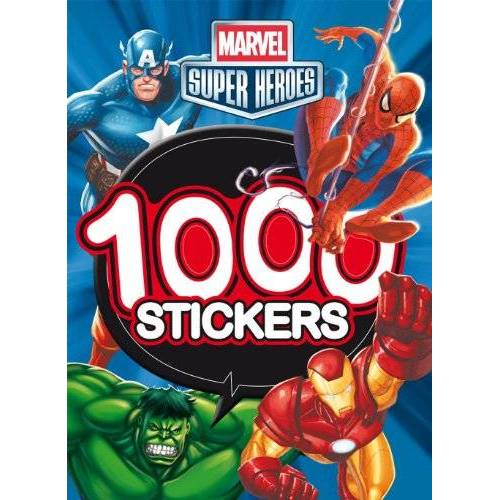 - Marvel super héros 1000 stickers - Preis vom 06.09.2020 04:54:28 h